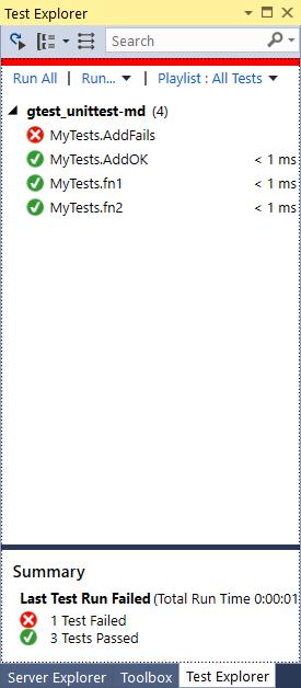 Unit tests in C++   ChristopheP on Microsoft Technologies