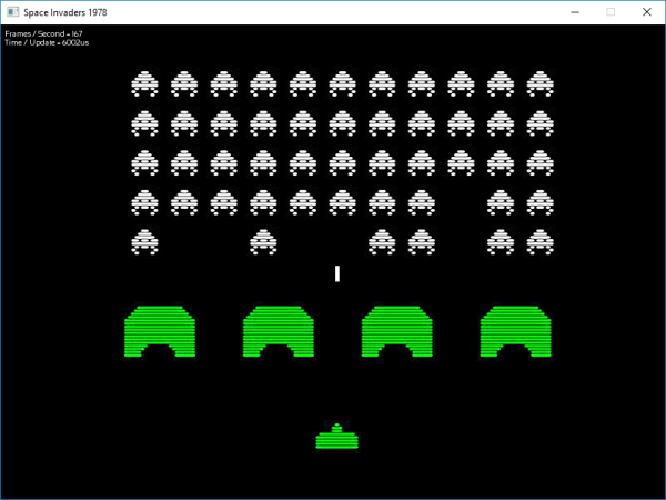 Space Invaders 1978 clone in C++ with SFML | ChristopheP on